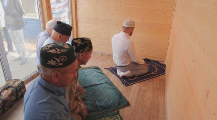 Mezquitas modulares en Bashkiria