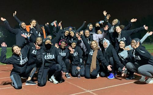 Mujeres deportistas musulmanas