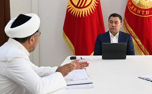 El presidente de Kirguistán