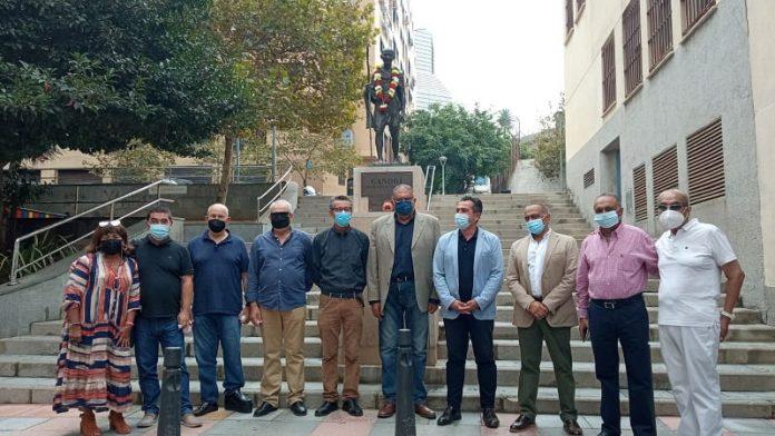 Musulmanes e hindúes de Ceuta rinden homenaje a la figura de Ghandi